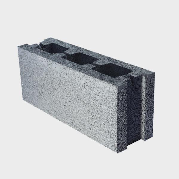 بلوک ۲۰ ۱۴.۵ ۴۹ دو جداره ویژه از نمای کنار