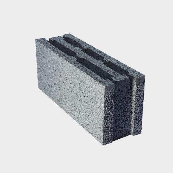 بلوک ۲۰ ۱۴.۵ ۴۹ سه جداره ویژه از نمای کنار