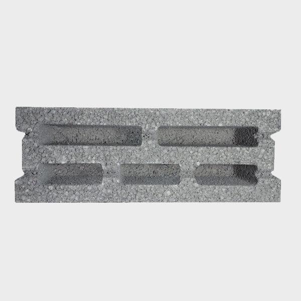 بلوک ۲۰ ۱۷.۵ ۴۹ سه جداره ویژه از نمای بالا