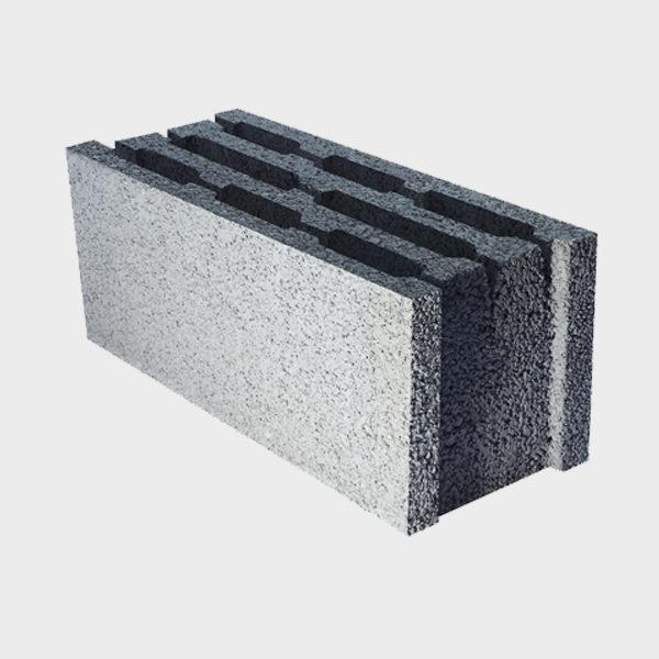 بلوک ۲۰ ۱۹ ۴۹ چهار جداره ویژه از نمای کنار